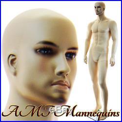 Male mannequin display dummy man, manequin, handmade manikin Vern-XM-11