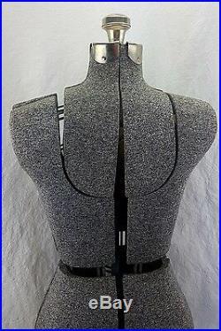 Mannequin Antique Adjustable Dress Form Vintage Womens Display Steampunk Rare