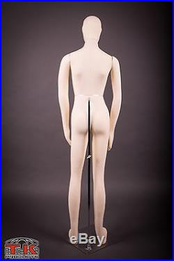 Mannequin, Full size, Flexible, Posable, Beige, Female, for Costumes & displays
