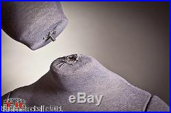 Mannequin, Full size, Flexible, Posable, Grey, Male, for Costume & Displays