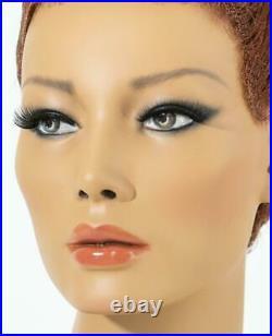 Mannequin Head Female Wig Display Heads VaudevilleMannequins. Com Kinsley Asian