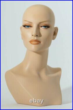 Mannequin Head Female Wig Heads VaudevilleMannequins. Com Liliana Display
