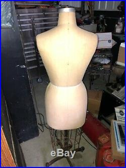 Mannequin Wolform/Model 1986, NYC. Sze 12 Professional dress form Free Shipping