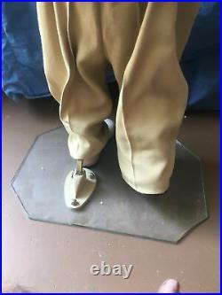 Mid Century Modern Department Store Full Body Boy World War 2 attire Mannequin