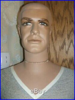 Mid-century Vintage Full Size Male Mannequin-70-vgc