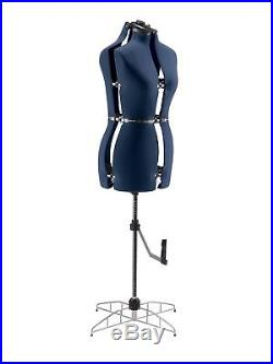 NEW Adjustable Sewing Dress Form Mannequin Full Figured Small Medium Size Women