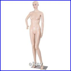 NEW Realistic Standing Female Full Body Display Mannequin + Base & 1 Free Wig