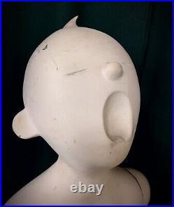PUCCI Vintage Crying Screaming Toddler Boy Mannequin Creepy Decor Oddity