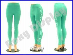 Plastic Unbreakable Female Mannequin Legs Brazilian hips Roxy Display #PS-LG101