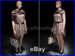 Plus Size Fiberglass Female Display Mannequin Manequin Dummy Dress Form #AVIS1