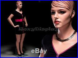 Plus Size Fiberglass Female Display Mannequin Manequin Dummy Dress Form #AVIS2