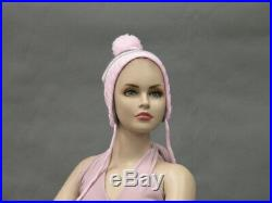 Pre-Teen 12 Year Old Fiberglass Realistic Girl Child Mannequin with Molded Hair