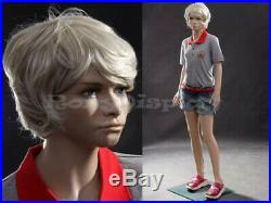 Preteen/Teen Girl Fiberglass Mannequin Dress Form Display #MZ-SK03