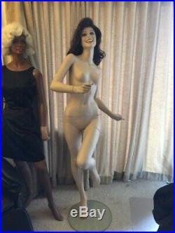 RARE Kyoya Running Female Mannequin Vintage 80s Made in Japan