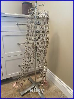 RARE Vintage My Double Adjustable Wire Dress Form PANTS Mannequin LEGS SLACKS