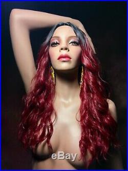 ROOTSTEIN Mannequin African American Black Female Full Realistic Ethnic Rare Vtg