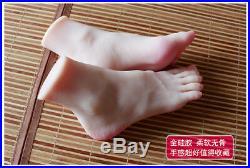 Rare HQ Lifelike Silicone female foot feet legs Shoes Socks Displays Model
