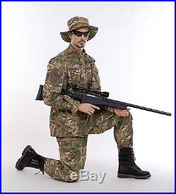 Realistic Male Mannequin, Includes Steel Base & Rods, Made of Fiberglass (tny5)