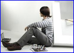 Realistic Male Mannequin, Sitting, All Made of Fiberglass (NTM1)