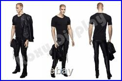Realistic male mannequin with molded hair #MZ-WEN5