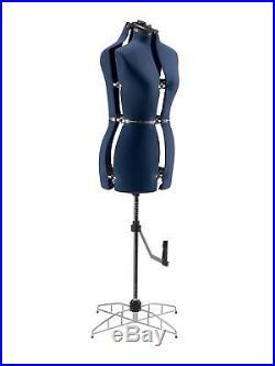 SINGER Medium/Large Dress Form DF251 has 13 Individual Adjustments, 39-47