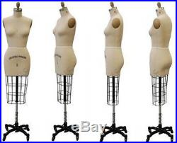 (SIZE2-ST+One Right Arm)Model #601 Professional Dress Form Female Half Body 2
