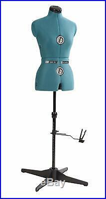 Seamstress Mannequin Adjustable Dress Form Professional Dressmaker Stand, Small