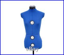 Seamstress Mannequin Dress Form Large Plus Size Adjustable Dressmaker Sewing