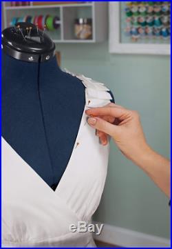 Seamstress Mannequin Torso Adjustable Medium Tailors Dressmaking Dress Form New