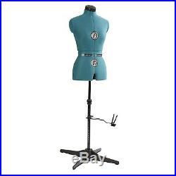 Seamstress Mannequin Torso Adjustable Tailors Dressmaking Dress Form Sewing S