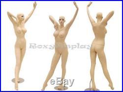 Sexy Big Bust Female Fiberglass Mannequin Dress form Display #MD-ACK6X