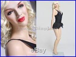 Sexy Female Fiberglass Mannequin Marilyn Monroe Style Dress Form #MZ-MONROE3