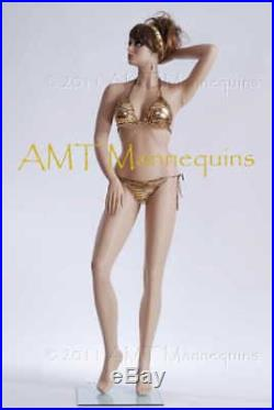 Sexy Woman Mannequin display swimming suit custums sun dress bust manikin Austin