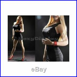 Sexy Women's Realistic Ladies Full Body Mannequin With Large Bust