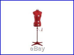 Singer DF150SMRD Adjustable Dress Form Mannequin Size Small/Medium