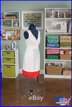 Singer Medium/Large Dress Form DF251 has 13 Individual Adjustments, 39-47 Bust