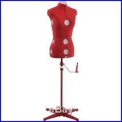 Singer Small/Medium Dress Form, Red