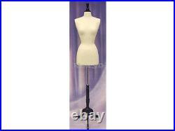 Size 2-4 Female Mannequin Manikin Dress Form #F2/4W-JF+ BS-02BKX