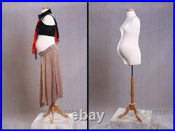 Size 8 with 8 Month Maternity Form Mannequin Manikin Dress Form #F8W8+BS-01NX