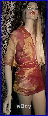 Sliwka meets Calendar Girl 6ft Custom Gorgeous Designer Mannequin, Stand, Wig