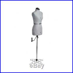 Small Dress Form Mannequin Adjustable Sewing Craft Stand Torso Body Fashion Doll