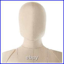 Soft Pinnable Head for Monica Sewing Dress Form Tailor Mannequin Beige