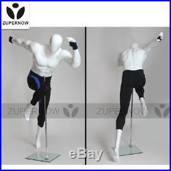 Sport mannequin running man window display male sexy doll fiberglass mannequin
