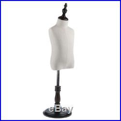 Store Display Kids Cloth Dress Form Mannequin Torso Model Adjustable Stand S