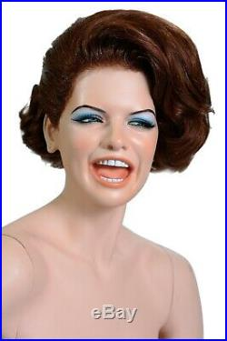 The famous Decter laughing girl vintage female mannequin