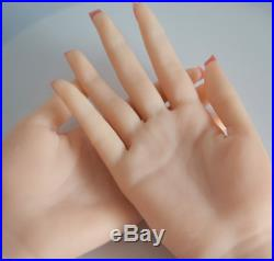 Top Quality Realistic Silicone hand Female Displays Model Mannequin left hand