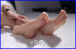 Top Quality Silicone Female Feet Shoes Socks Displays Model Perfect High Arch