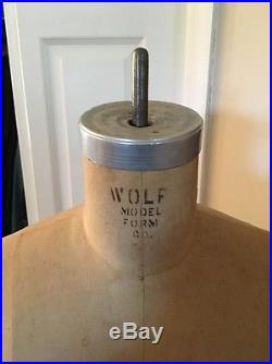 VINTAGE Collapsible WOLF FRESS FORM Model 1963 Size 12 LOCAL PICKUP ONLY
