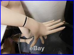 Vintage Hindsgaul Mannequin 1992full Bodysexy Leaning Positionmade In Denmark