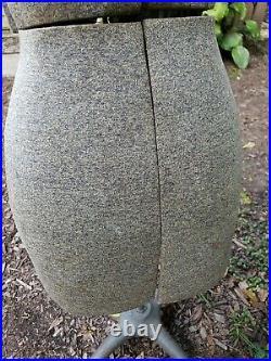 VINTAGE early 20th c Adjustable Dress Form Mannequin Display, Dressmakers model